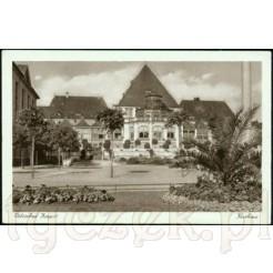 Widok kartki pocztowej przedstawiającej Kurhaus Zoppot