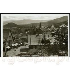 Widok pocztówki z Karpacza