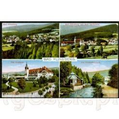 Widok kartki pocztowej z Bad Flinsberg
