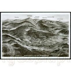 Widok kartki pocztowej przedstawiającej Kowary