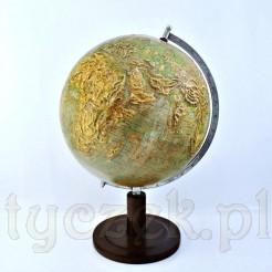 kolekcjonerski globus fizyczny świata