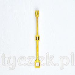 Specjalistyczna zawieszka wahadła zegara kominkowego lub ściennego