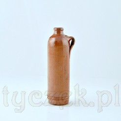 Ceramiczna buteleczka z uchwytem posiadająca smukły kształt