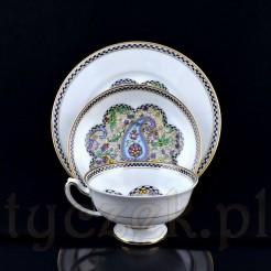 Zestaw porcelanowy wykonany w latach 1909-1945