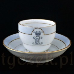 Baronowska filiżanka z porcelany KPM BERLIN