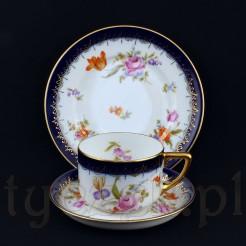 Luksusowy zestaw śniadaniowy reprezentuje znaną formę Isolde