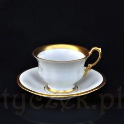 Porcelanowa filiżanka do kawy wykonana na Śląsku