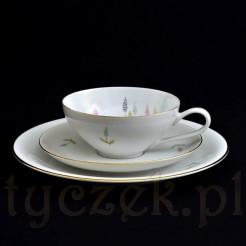 Zestaw śniadaniowy z porcelany KPM Krister