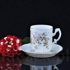 Uroczy komplet idealny do kawy lub herbaty- rzadki okaz!