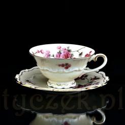 Porcelanowa filiżanka do kawy i herbaty z Żar