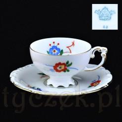 Niespotykany eksponat z żarskiej porcelany z rzadką sygnaturą