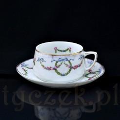 Zabytkowa śląska porcelana ze znanej manufaktury Hermanna Ohme, która była jedną z największych w rejonie Wałbrzycha
