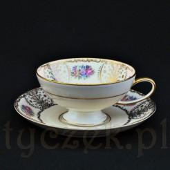 Rosenthal filiżanka na herbatę z pięknym zdobieniem