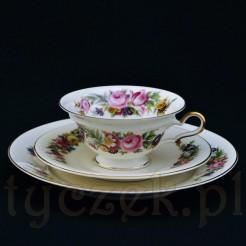 Luksusowe trio z markowej porcelany Rosenthal