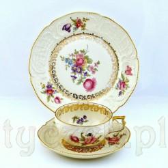 Porcelanowy zestaw śniadaniowy z lat 1928-1951