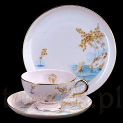 Filiżanka marki Haviland Bavaria z porcelany różowej