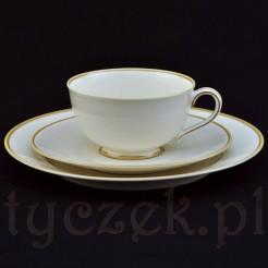 Ekskluzywny zestaw śniadaniowy z żarskiej porcelany
