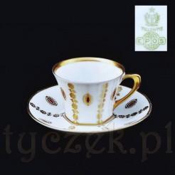 Porcelanowa filiżanka do mocci lub espresso