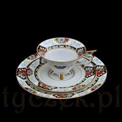 Ekskluzywny i kolekcjonerski zestaw z żarskiej porcelany marki Sorau