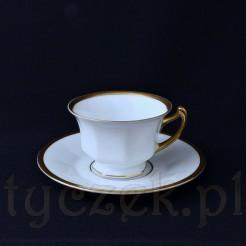 Niezwykle elegancki komplet do mocnej kawy typu mokka