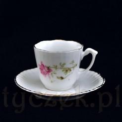 Przepiękna filiżanka porcelanowa marki KPM