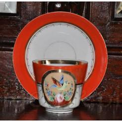 śląska filiżanka z końca XIX wieku