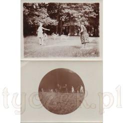 Pora karmienia jeleni i saren uwieczniona na dawnych zdjęciach