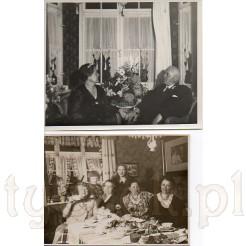Domowe wystroje z dawnych lat na pamiątkowych zdjęciach