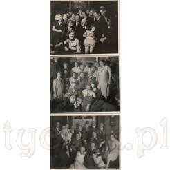 Grono rodziny uwiecznione podczas rodzinnych spotkań na dawnych zdjęciach