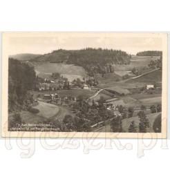 Malowniczy krajobraz górski Bad Reinerz in Schlesien Duszniki Zdrój na Śląsku