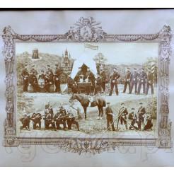 Oryginalne tablo wojskowe z czasów I wojny światowej.