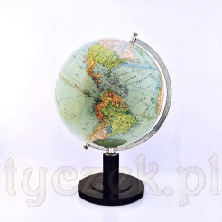 Globus reprezentacyjny z mapą polityczną
