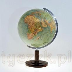 Dekroacyjny antyk stary i stylowy globus marki Columbus