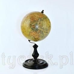 Zabytkowy globus z przełomu XIX i XX wieku