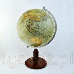 doskonale zachowana mapa świata