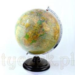 Dostojny globus na bakelitowej nodze