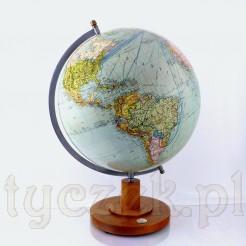 Zabytkowy globus z okresu II Wojny Światowej