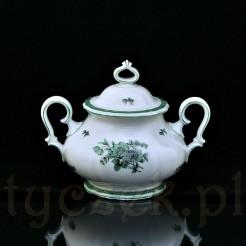 Markowa cukiernica zabytkowa z porcelany szlachetnej