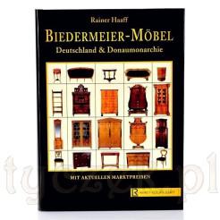 "Rainer Haaff ""Biedermeier Moebel"" katalog z meblami i wycenami"