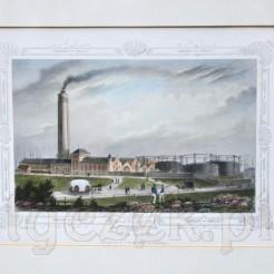 """Staloryt zatytułowany """"Gasfabrik auf dem Grasbrook"""""""