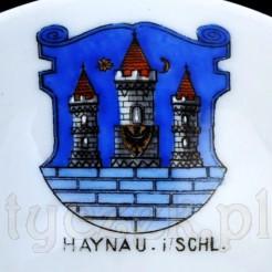 Herb HAYNAU in Schlesien dziś Chojnów
