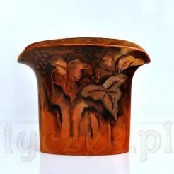 Luksusowa porcelana Hutschenreuher ręcznie malowany wazon