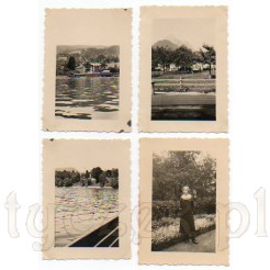 Urokliwe ujęcia z malowniczego jeziora w Bawarii oraz elegancka dama w parku