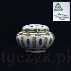 Znakomita ikebana z francuskiej szlachetnej porcelany Limoges