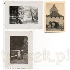Pamiątkowe ujęcia na czarno- białych zdjęciach z 1933 r.