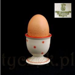 Sygnowany kieliszek na jajko BAVARIA