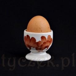 Ceramiczny kieliszek do jajka niesygnowany Włocławek