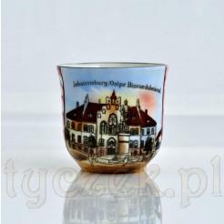 Porcelanowa filiżanka z widokiem Johannisburg - PISZ
