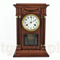 Ekskluzywny zegar stojący w drewnianej obudowie