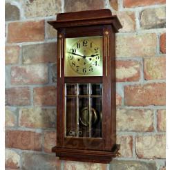 Junghans zegar witrażowy z 1909 roku z melodią Westminster